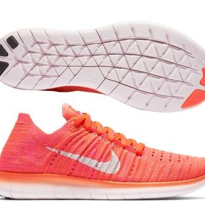 Nike Wmns All Natural Flyknit Orange/pink shoes